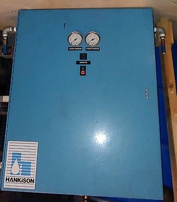 Hankison pressure swing regenerative desiccant air dryer lot # 0081
