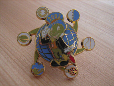 Jiminy Cricket Earth Day 2002 Spinner Pin Cast Exclusive LE 4000 Ladybug Recycle