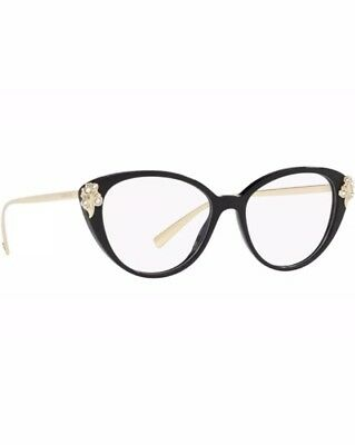 b67f58bd7d9 NEW AUTHENTIC VERSACE Eyeglasses VE 3262 gb1 Made In Italy 52mm MMM ...