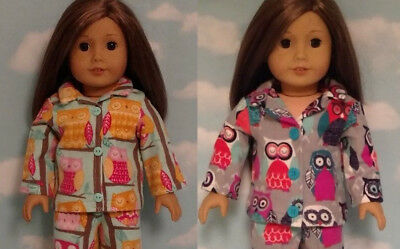 "Pajamas Doll Clothes for 18"" American Girl Doll 405ab"