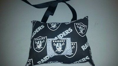 Oakland Raiders Tooth Fairy Pillow