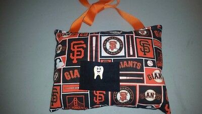 SF Giants Tooth Fairy Pillow