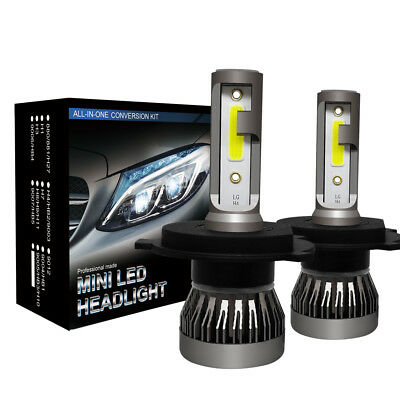 H4/HB2/9003 LED Headlight Conversion Kit 2200W 310000LM HI-LO Beam Bulbs 6000K