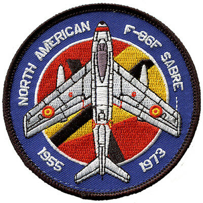 Parche F-86 Sabre Ejercito del aire España Spanish Air Force Military Patch Army
