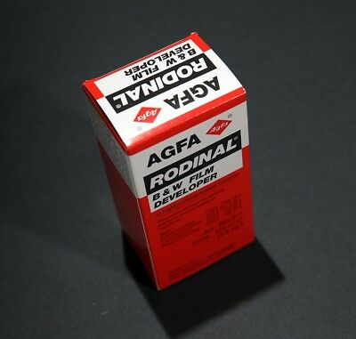 RODINAL 125ml Bottle. Classic AGFA B&W Film Developer. Darkroom. New