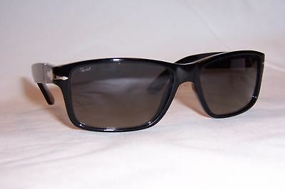 280ceaf888 NEW PERSOL SUNGLASSES PO 3154 S BLACK GRAY 104171 AUTHENTIC ...