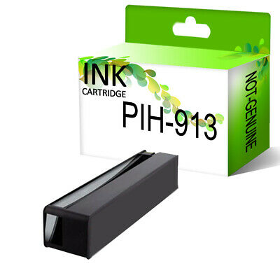 Black Ink Cartridge PP® fits for HP 913A PageWide 477dw 577dw 577z