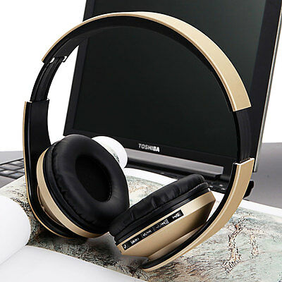 Foldable Bluetooth Headset Wireless/Wired Stereo Headphone With Audio Cable