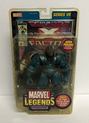 Apocalypse MARVEL LEGENDS 2004 action figure series VII with comic book