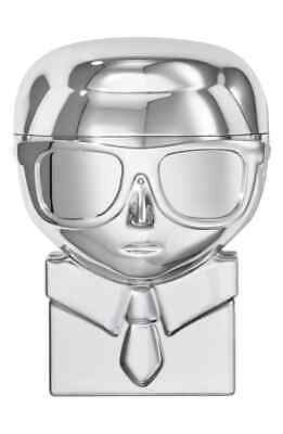 Karl Lagerfeld + Modelco Lip Balm Gloss Neutral Color Silver Collectible Limited