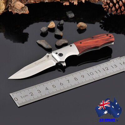 Browning DA51 Folding Pocket Knife Outdoor Survival Fishing Hunting Camping AU