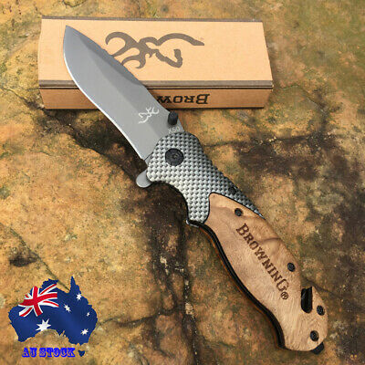 095# Browning X50 Folding Pocket Knife Outdoor Tool Camping Tactical Hunting