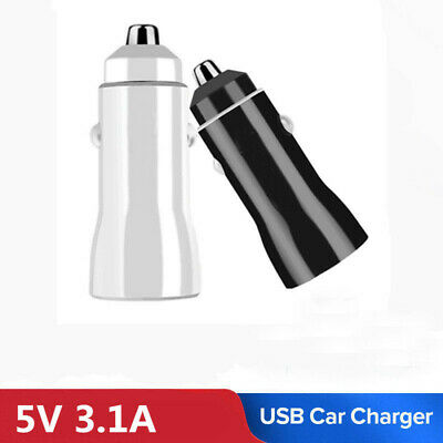 Dual USB Port Quick Charge Fast Car Charger Adapter For iPhone Samsung
