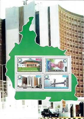 Nigeria -2018 50th Anniversary Of River state, New Issue Miniature Sheet