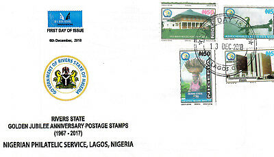 Nigeria - 50th Anniversary Of River state FDC - 13 December 2018