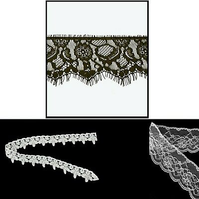 Vintage Style Cotton Lace Ribbon Antique Edge Trim Sewing Craft Dress Decoration