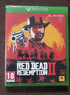 Red Dead Redemption 2 For Xbox One New And Sealed