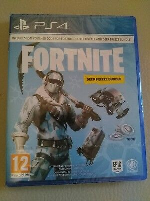 Fortnite Deep Freeze Bundle Playstation 4 Eur 29 99 Picclick De