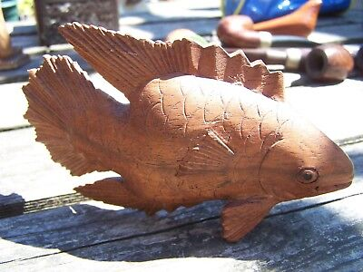 Antique Vintage German Black Forest Fish