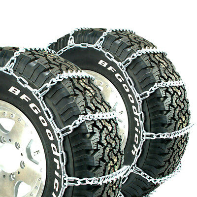 Titan Truck V-Bar Tire Chains Ice or Snow Covered Roads 7mm 245/75-22.5