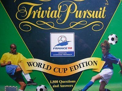Trivial Pursuit Soccer   Football World Cup - France  98 36ece281b9454