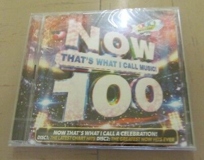 Now Thats What I Call Music 100 2 CD's NEW SEALED RRP £12.99 ... FREE Postage UK