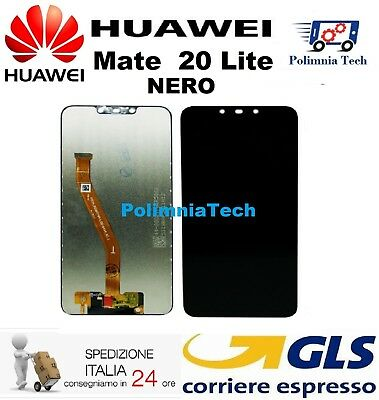 DISPLAY HUAWEI MATE 20 Lite  NERO - DISPLAY LCD + TOUCH SCREEN - GLS