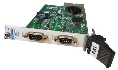 NI PXI-8432/2 2-Port, Isolated, RS232 PXI Serial Instrument Control Module