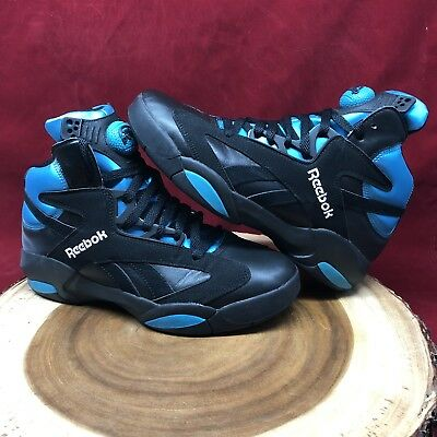 278f52ded37 2016 Reebok Pump Shaq Attaq Retro OG Black Azure Orlando Magic Size 8 V55083