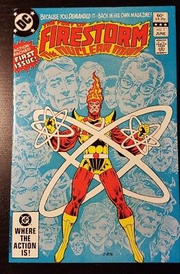 The Fury of Firestorm,1 and 2    !st appearance of Jefferson Jackson