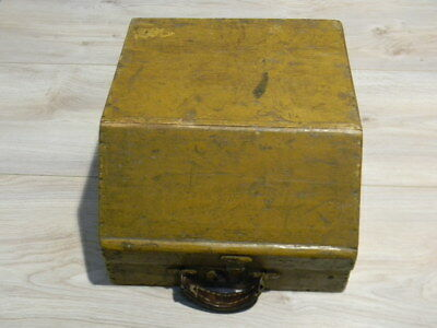 Old Accordion Suitcase Eg for Hohner Club Models Small Wooden Case~1930