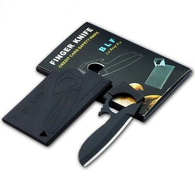 Credit Card Knife For Wallet Stealth Tactical Camping Outdoor Mini Tool