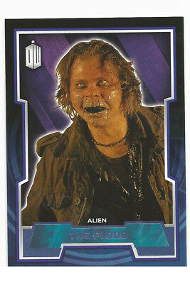 Topps Doctor Who 2015 Purple Parallel Variant #68 ~ The Flood ~ 81/99
