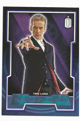 Topps Doctor Who 2015 Purple Parallel Variant #12 ~ 12th Doctor ~ 25/99