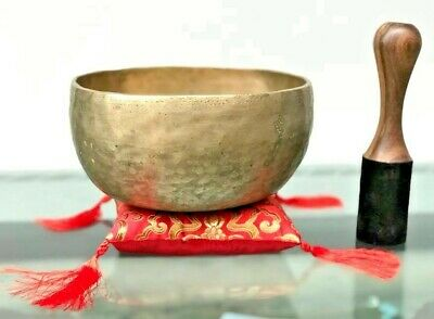 Old Antique Thadobatti singing Bowl-Tibetan Collected Master Piece Healing Bowl