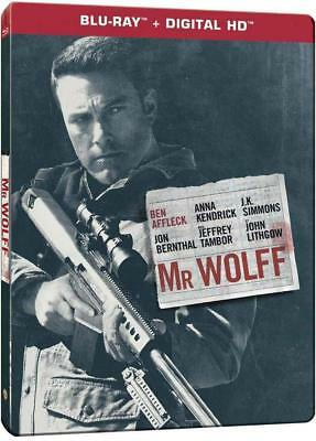 Mr Wolff (The Accountant) - STEELBOOK Blu-Ray France VF INCLUSE et Digital Copie