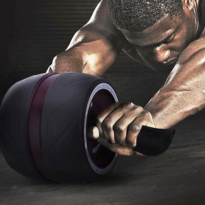 Fitness AB Carver Pro Workout Wheel Roller Six Pack Abs Exercise Home Gym 2.5KG