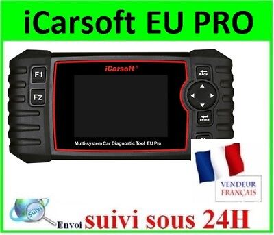 Scanner Icarsoft Eu Pro Valise Voiture Diagnostique Obd2 Automobile Europe
