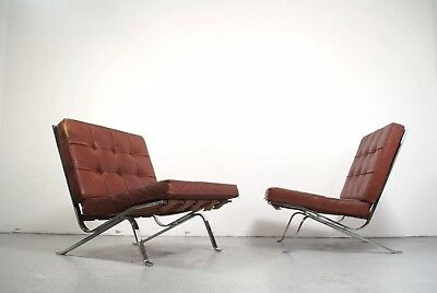 Original Barcelona Chair Designed By Ludwig Mies Van Der Rohe