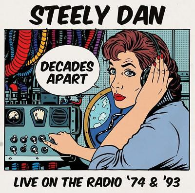 Steely Dan - Decades Apart: Live on the Radio '74-'93 (2017)  5CD Box Set  NEW