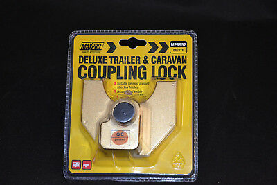 DELUXE TRAILER AND CARAVAN COUPLING LOCK- Maypole MP9952