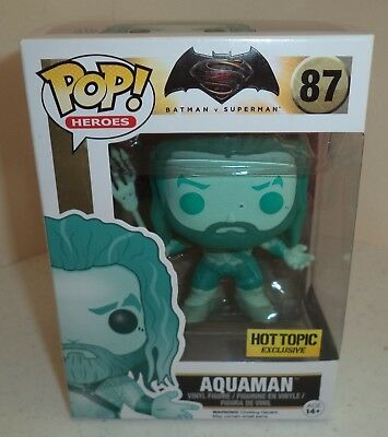 Funko POP! Batman v Superman Aquaman #87 Hot Topic Exclusive