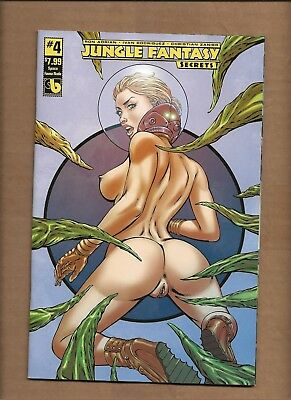 Jungle Fantasy Secrets #4 Space Fauna  Nude Risque Variant Cover  Boundless