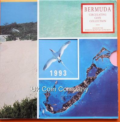 1993 Bermuda Brilliant Uncirculated Coin Collection Set