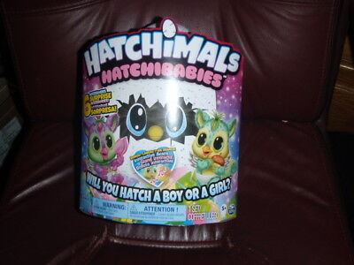 NEW Hatchimals Hatchibabies - Chipadee  Will you Hatch a Boy or Girl