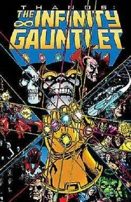 INFINITY GAUNTLET TPB Jim Starlin Marvel Comics Collects #1-6 Avengers Thanos TP