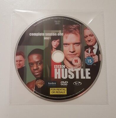 Hustle - Season 1 – Disc 1 - Region 2 - Replacement DVD - DISC ONLY