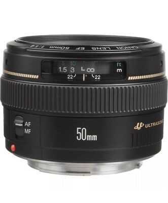 Canon EF 50mm 1.4 USM Lens. Perfect Condition!
