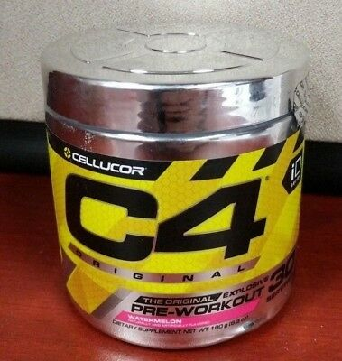 Cellucor C4 30 Pre WORKOUT minor clumping FREE SHIPPING!!