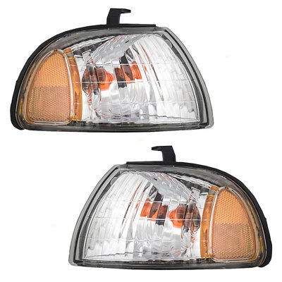 New Pair Set Park Signal Corner Marker Light for 97-99 Subaru Legacy Outback